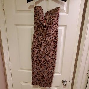 Sparkly body fitting dress
